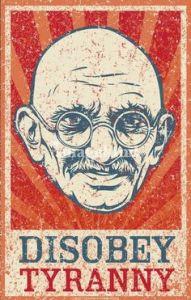 """Mahatma Gandhi"" by Liberty Maniacs, Minnesota"